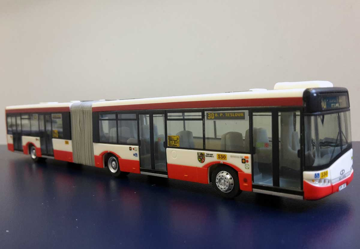 Model autobusu Solaris U18