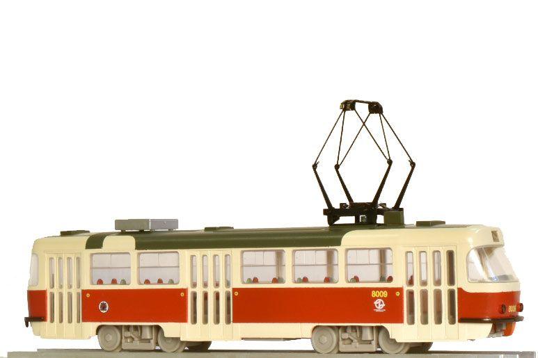 Model tramvaje ČKD Tatra T3M.DVC2