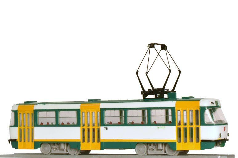 Model tramvaje ČKD Tatra T3SUCS