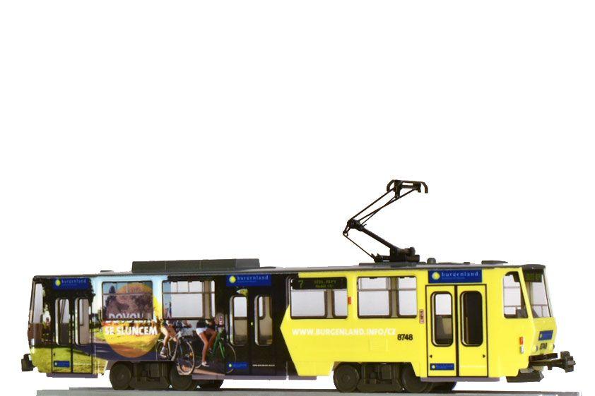 Model tramvaje ČKD Tatra T6A5
