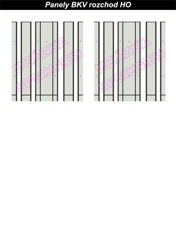 Zákryt kolejí panely BKV (d)