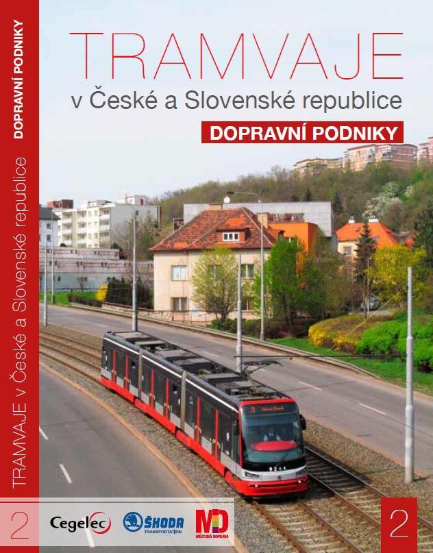 DVD tramvaje v České republice