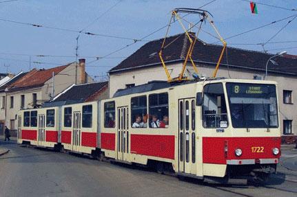 Tramway ČKD Tatra KT8D5