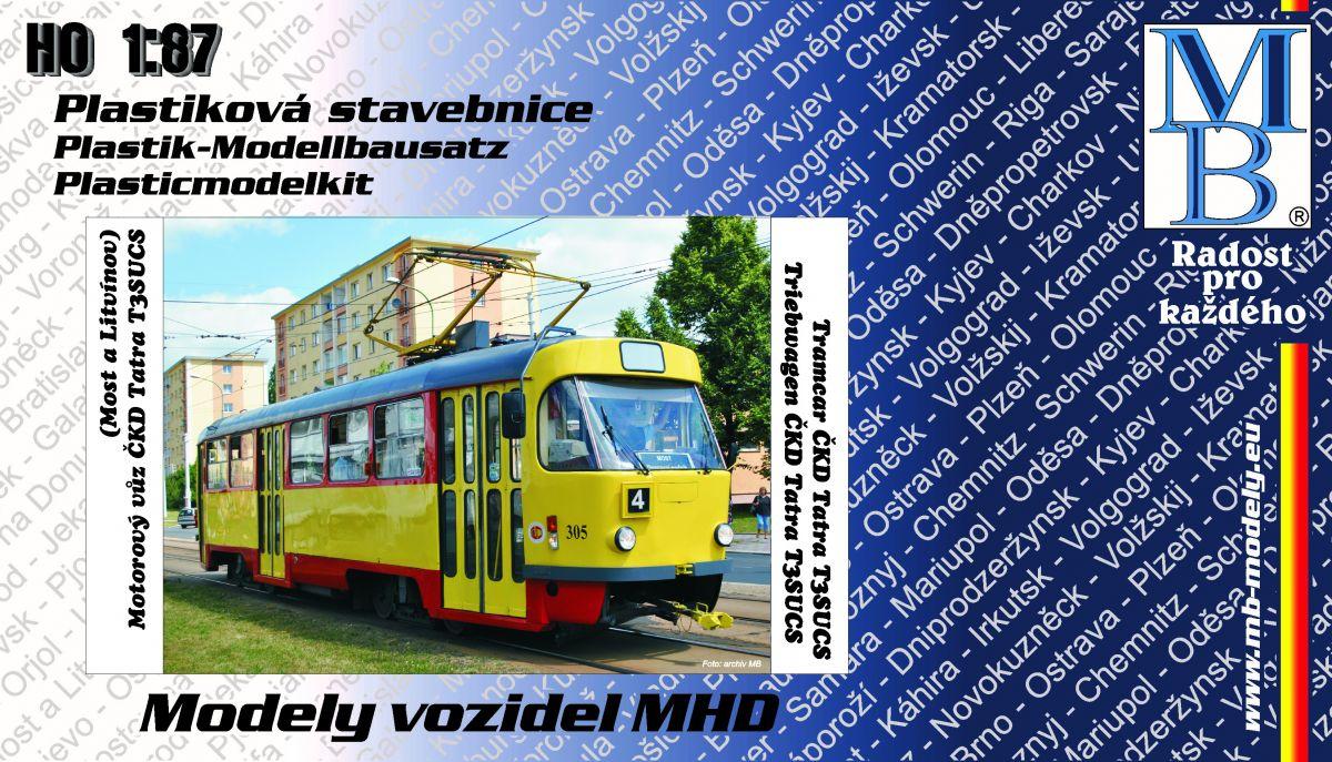 Tramway kit ČKD Tatra T3sucs