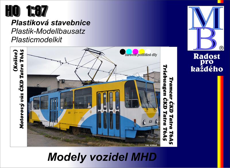 Tramway kit ČKD Tatra T5