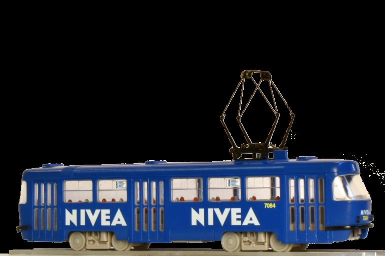 Tramway model ČKD Tatra T3SUCS with advertising
