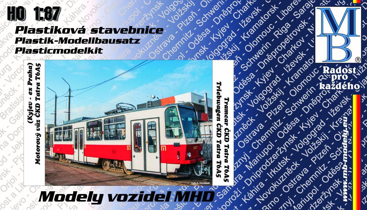 Tramway kit ČKD Tatra T6A5