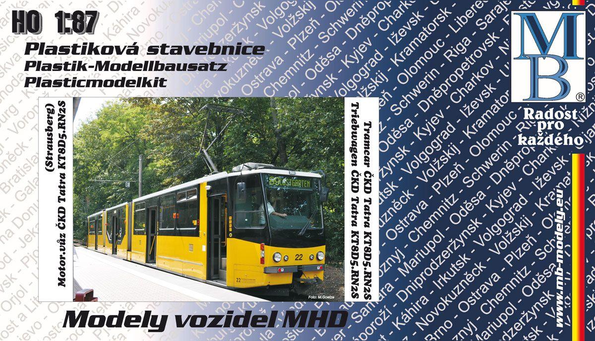 Tramway kit ČKD Tatra KT8D5