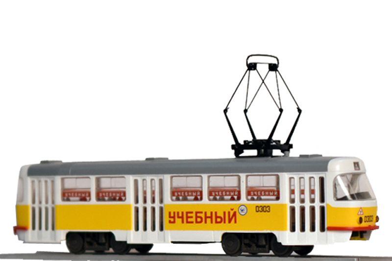 Model tramvaje ČKD Tatra T3SU