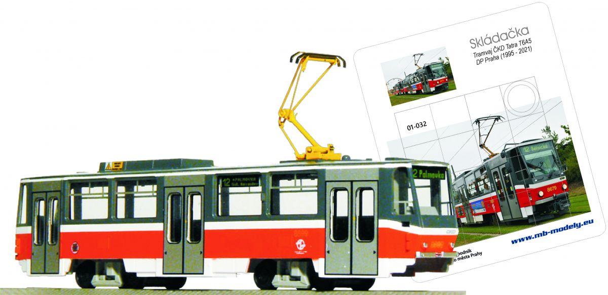 Tramway ČKD Tatra T6A5 + gift