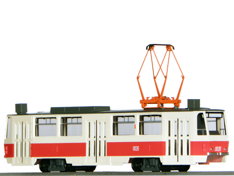 Model with engine