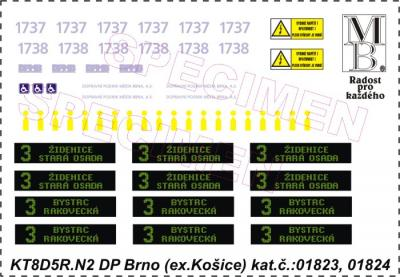 Decal sheet KT8D5R.N2