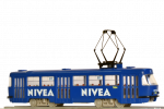 "Tramway model ČKD Tatra T3SUCS with advertising ""Nivea"" (Nr.7084), Ep.VI"